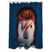 <strong>Pets Rock Glam Rock Polyester Shower Curtain</strong> by OneBellaCasa.com