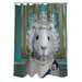 <strong>OneBellaCasa.com</strong> Pets Rock HRH Polyester Shower Curtain