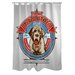 <strong>OneBellaCasa.com</strong> Doggy Decor Saint Mountain Polyester Shower Curtain