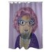 <strong>OneBellaCasa.com</strong> Pets Rock Possum Polyester Shower Curtain