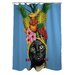 <strong>OneBellaCasa.com</strong> Pets Rock Fruit Polyester Shower Curtain