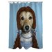 <strong>Pets Rock Ruby Polyester Shower Curtain</strong> by One Bella Casa