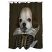 <strong>Pets Rock Shakespeare Polyester Shower Curtain</strong> by OneBellaCasa.com