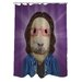 <strong>OneBellaCasa.com</strong> Pets Rock Savior Polyester Shower Curtain