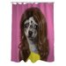 <strong>OneBellaCasa.com</strong> Pets Rock Wag Polyester Shower Curtain