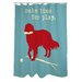 <strong>Doggy Decor Time for Play Polyester Shower Curtain</strong> by One Bella Casa