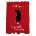 <strong>Doggy Decor Not Listening Polyester Shower Curtain</strong> by One Bella Casa