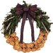 <strong>Urban Florals</strong> Holiday Bentley Quince Wreath