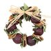 Pomegranate and Quince Wreath