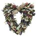 Darcey's Garden Heart Wreath