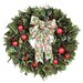 Holly Berry Glitz Wreath