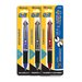 2 In 1 Mechanical Pencil and 4-Color Pen with Grip