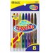8 Color Mini Propelling Crayon Set