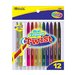 12 Color Mini Propelling Crayon Set
