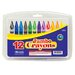 <strong>12 Color Premium Quality Jumbo Crayon Set</strong> by Bazic