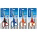 "<strong>7"" Soft Grip Stainless Steel Scissors (Set of 144)</strong> by Bazic"