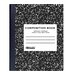 Black Marble Composition Book (Set of 48)