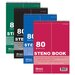 Bazic Green Tint Gregg Ruled Steno Book