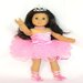 "Swan Lake Ballerina Outfit for 18"" American Girl Doll"