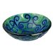 Legion Furniture Mosaic Earth Vessel Bathroom Sink