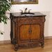 "36"" Woodbridge Sink Vanity in Antique Brown Finish"