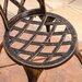 Home Loft Concept Enrique 3-Piece Cast Aluminum Bistro Set