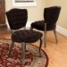 <strong>Yates Tufted Fabric Dining Chairs (Set of 2) (Set of 2)</strong> by Home Loft Concept