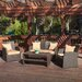 Driago Outdoor 4 Piece Wicker Seating Set