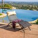 <strong>Terrace Outdoor Wicker Loung Chair and Ottoman Set with Pillow</strong> by Home Loft Concept