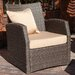 Home Loft Concept Driago Outdoor 4 Piece Wicker Seating Set
