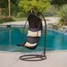 <strong>Moorea Wicker Swinging Lounge Chair</strong> by Home Loft Concept