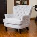 <strong>Waldorf Diamond Tufted Club Chair</strong> by Home Loft Concept