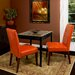 Home Loft Concept Talib Tufted Leather Dining Chair (Set of 2)