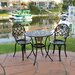 Carlos 3-Piece Bistro Set with Ice Bucket