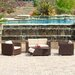 <strong>Home Loft Concept</strong> Asante 4pc PE Wicker Outdoor Sofa Set