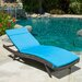Home Loft Concept Chaise Lounge with Cushion