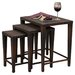 Home Loft Concept Santiago 3 Piece Wicker Tables Set
