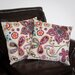 Paisley Floral Pillow