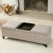<strong>Henderson Fabric Storage Ottoman</strong> by Home Loft Concept
