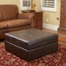 Burlington Leather Storage Ottoman