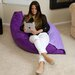 Dimpled Bean Bag Pillow Chair