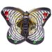 <strong>Deco Breeze</strong> Butterfly Small Figurine Table Top Fan