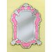 Celina Wall Mirror in Pink