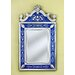 Natasha Small Wall Mirror In Blue