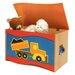 Room Magic Boys Like Trucks Toy Box