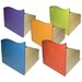 "<strong>Room Magic</strong> Tropical Storage 14"" Bookcase (Set of 5)"
