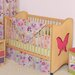 Magic Garden Butterfly 2-in-1 Convertible Crib