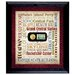 <strong>American Coin Treasures</strong> Liberty Lives in New York City Wall Framed Textual Art with Coin and Stamp in Black