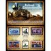 Railroad Commemorative Stamp Collection