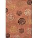 <strong>Alliyah Rust Flower Rug</strong> by James Bond